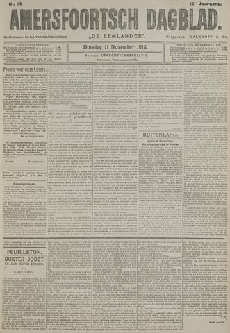 Amersfoortsch Dagblad / De Eemlander 1913-11-11