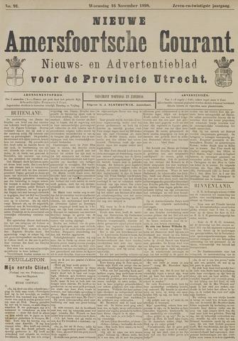 Nieuwe Amersfoortsche Courant 1898-11-16