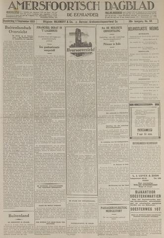 Amersfoortsch Dagblad / De Eemlander 1931-09-17
