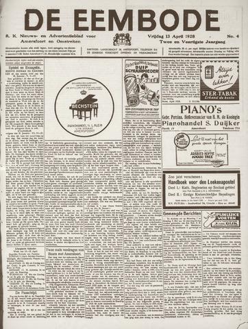 De Eembode 1928-04-13