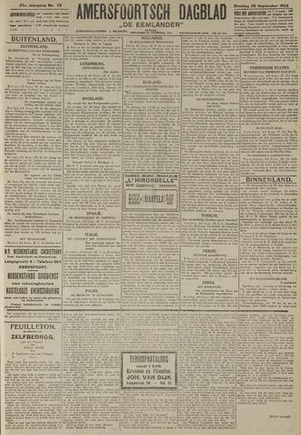 Amersfoortsch Dagblad / De Eemlander 1923-09-25