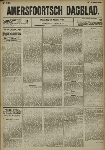 Amersfoortsch Dagblad 1907-03-11
