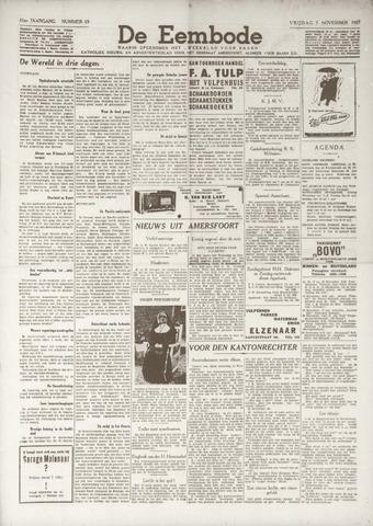 De Eembode 1937-11-05