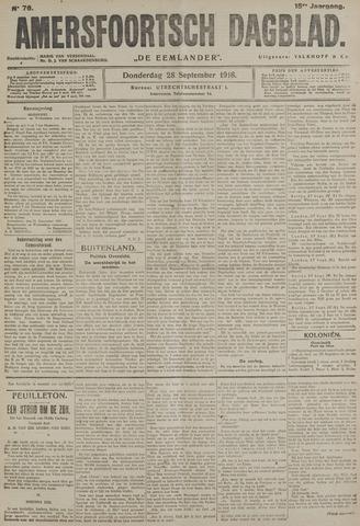Amersfoortsch Dagblad / De Eemlander 1916-09-28