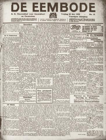 De Eembode 1926-05-21
