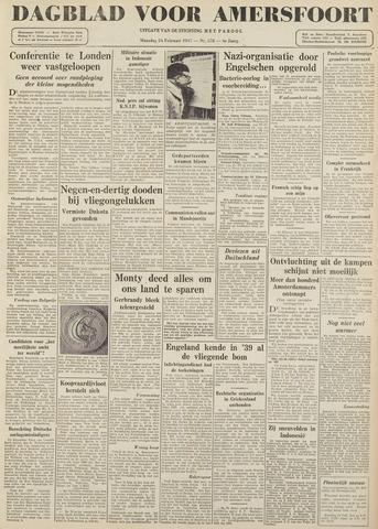 Dagblad voor Amersfoort 1947-02-24