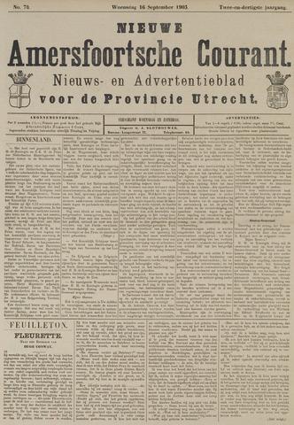 Nieuwe Amersfoortsche Courant 1903-09-16
