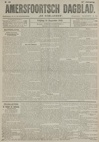 Amersfoortsch Dagblad / De Eemlander 1913-08-15