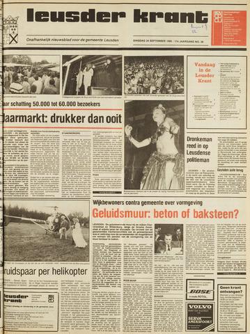 Leusder Krant 1985-09-24