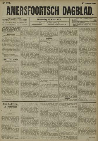 Amersfoortsch Dagblad 1909-03-17