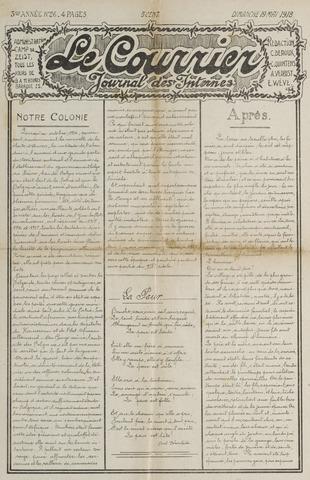 Le Courrier 1918-05-19