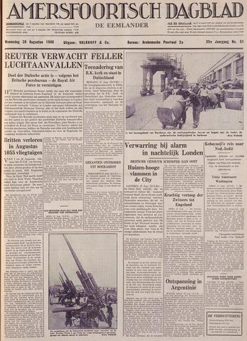 Amersfoortsch Dagblad / De Eemlander 1940-08-28