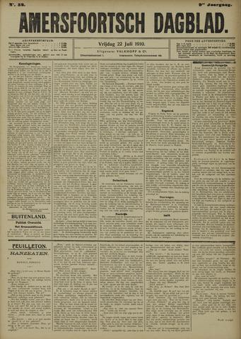 Amersfoortsch Dagblad 1910-07-22