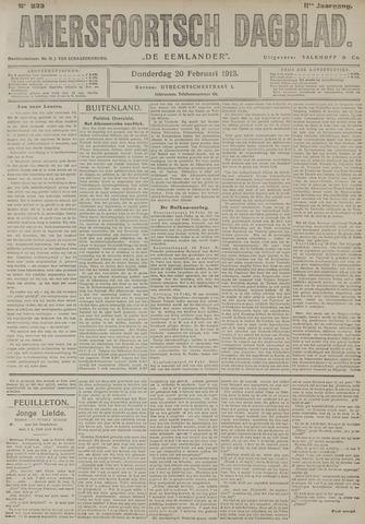 Amersfoortsch Dagblad / De Eemlander 1913-02-20
