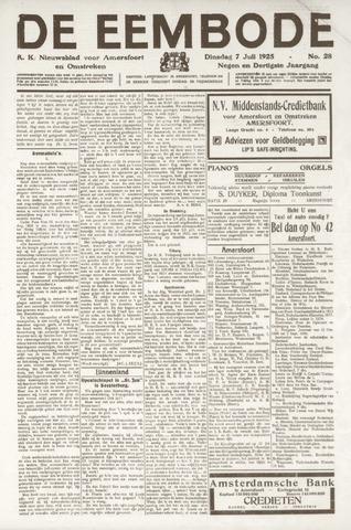 De Eembode 1925-07-07