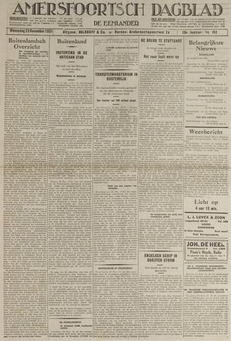 Amersfoortsch Dagblad / De Eemlander 1931-12-23