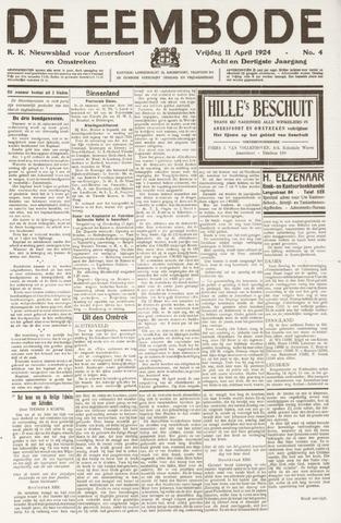 De Eembode 1924-04-11
