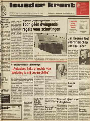 Leusder Krant 1985-01-24