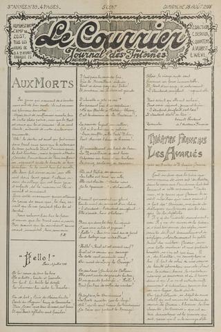 Le Courrier 1918-08-18