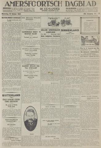 Amersfoortsch Dagblad / De Eemlander 1929-10-23
