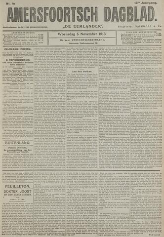 Amersfoortsch Dagblad / De Eemlander 1913-11-05