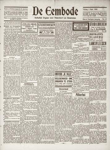 De Eembode 1932-09-02