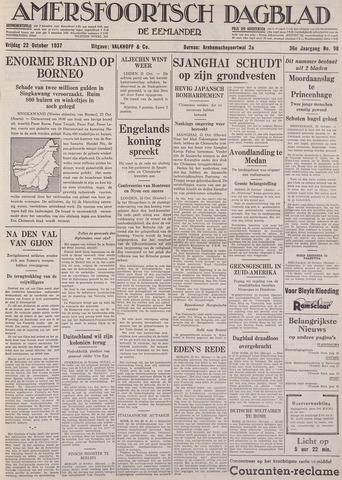 Amersfoortsch Dagblad / De Eemlander 1937-10-22
