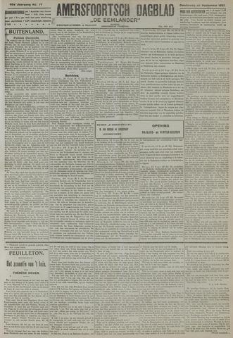 Amersfoortsch Dagblad / De Eemlander 1921-09-22