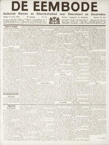 De Eembode 1914-10-09