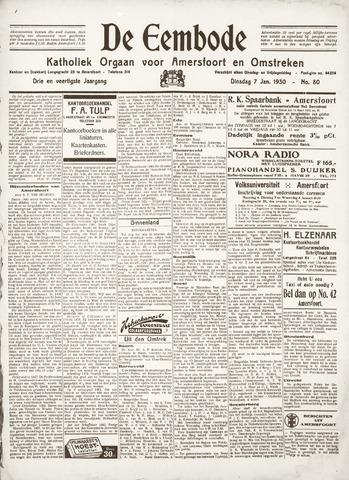 De Eembode 1930-01-07