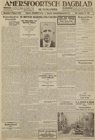 Amersfoortsch Dagblad / De Eemlander 1932-02-03