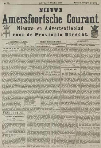 Nieuwe Amersfoortsche Courant 1908-10-10