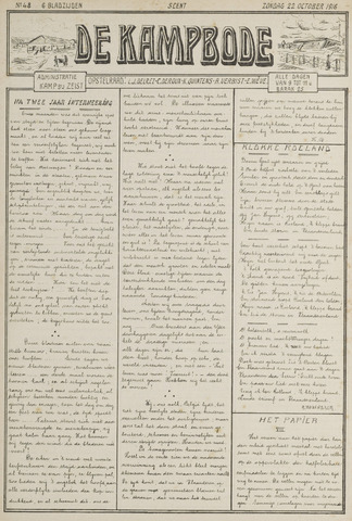 De Kampbode 1916-10-22