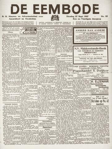 De Eembode 1927-09-27