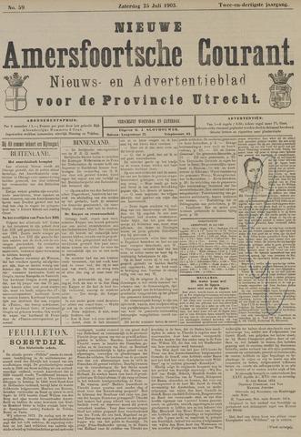 Nieuwe Amersfoortsche Courant 1903-07-25