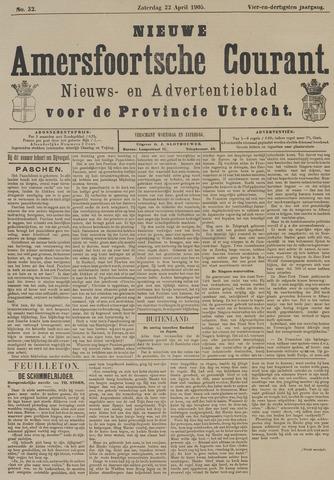 Nieuwe Amersfoortsche Courant 1905-04-22