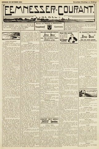 Eemnesser Courant 1924-10-28