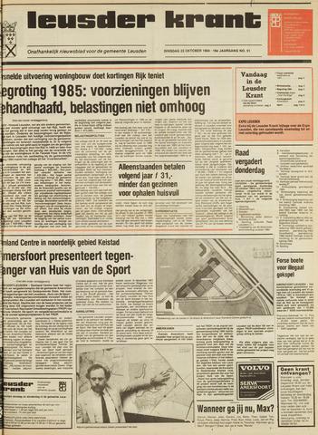 Leusder Krant 1984-10-23