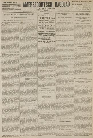 Amersfoortsch Dagblad / De Eemlander 1927-09-14