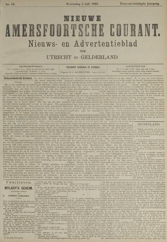 Nieuwe Amersfoortsche Courant 1893-07-05