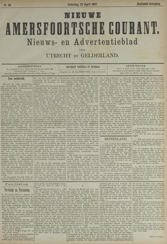 Nieuwe Amersfoortsche Courant 1887-04-23