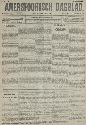 Amersfoortsch Dagblad / De Eemlander 1917-10-23