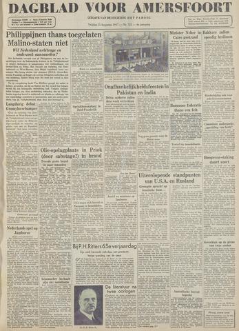Dagblad voor Amersfoort 1947-08-15
