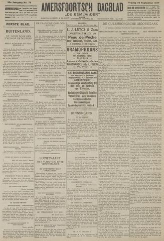 Amersfoortsch Dagblad / De Eemlander 1927-09-30