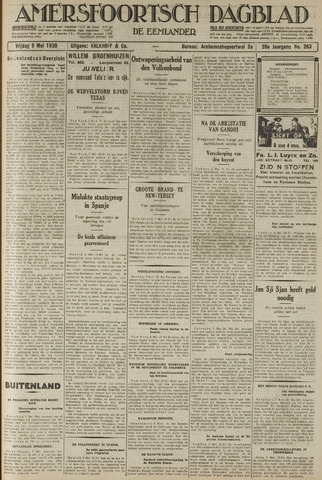 Amersfoortsch Dagblad / De Eemlander 1930-05-09