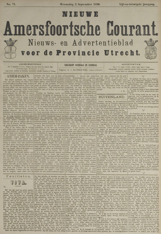Nieuwe Amersfoortsche Courant 1896-09-02