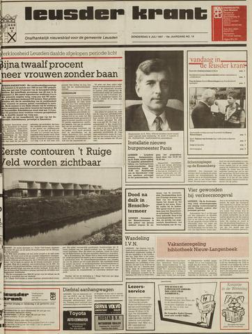 Leusder Krant 1987-07-09