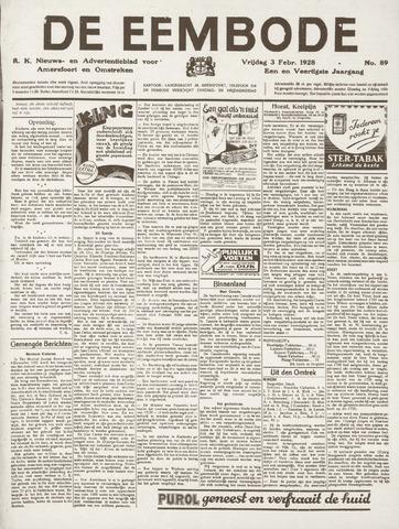 De Eembode 1928-02-03