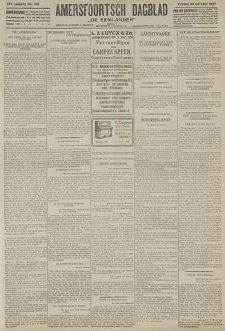 Amersfoortsch Dagblad / De Eemlander 1927-10-28