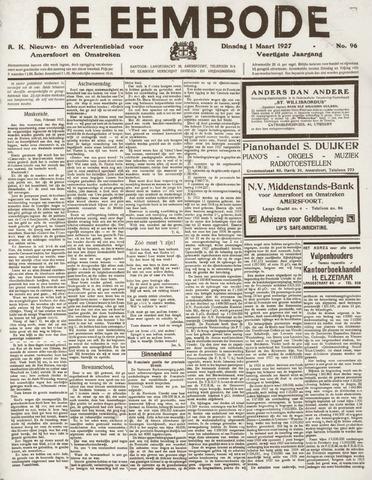 De Eembode 1927-03-01